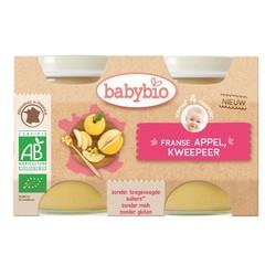 Babybio Dessert appel peel 130 gram (2 stuks)