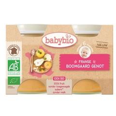 Babybio Dessert fruitlekkernij 130 gram (2 stuks)
