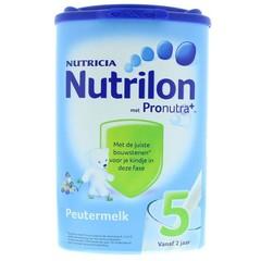 Nutrilon 5 Peuter groeimelk poeder (800 gram)