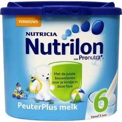 Nutrilon 6 Peutermelkplus melk poeder (400 gram)