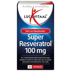 Lucovitaal Super Resveratrol (30 capsules)