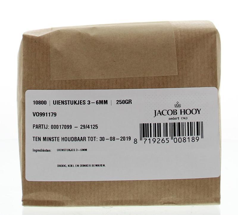 Jacob Hooy Jacob Hooy Uienstukjes blank (250 gram)