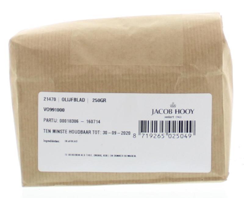 Jacob Hooy Jacob Hooy Olijfblad gesneden (250 gram)