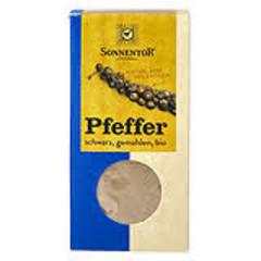Sonnentor Peper zwart gemalen (50 gram)