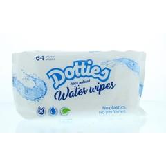 Dotties Water wipes (64 stuks)