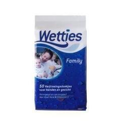 Wetties Wetties familypack (50 stuks)