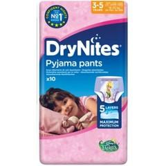 Huggies Drynites girl 3-5 jaar (10 stuks)