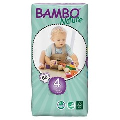 Bambo Babyluier maxi 4 7-18 kilogram (60 stuks)