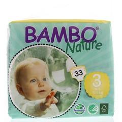 Bambo Babyluier midi 3 5 - 9 kg (33 stuks)