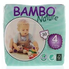 Bambo Babyluier maxi 4 7 - 18 kg (30 stuks)