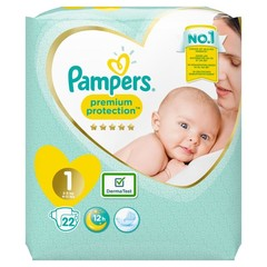 Pampers New baby newborn maat 1 (22 stuks)