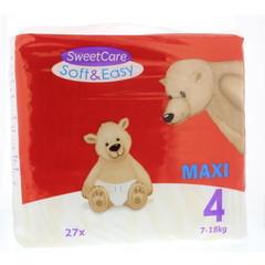 Sweetcare Luiers Soft & easy maxi nr 4 7-18 kg (27 stuks)