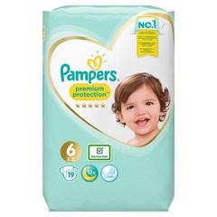 Pampers Premium protection XL S6 (19 stuks)