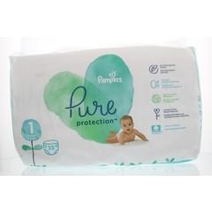 Pampers Pure protection 2 - 5 kg maat 1 (35 stuks)