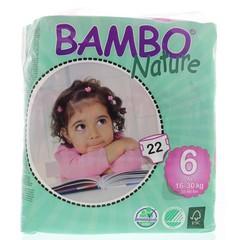 Bambo Babyluier XL 6 16-30kg (22 stuks)