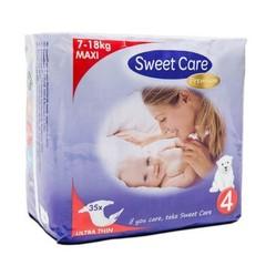 Sweetcare Premium maxi maat 4 7-18 kg (35 stuks)
