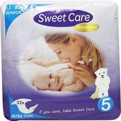 Sweetcare Premium junior maat 5 11-25 kg (32 stuks)