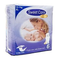 Sweetcare Sweetcare premium XL maat 6 16+ kg (30 stuks)