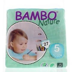 Bambo Babyluier 5 15-22kg (27 stuks)