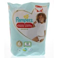 Pampers Premium protection pants maat 6 (16 stuks)