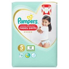 Pampers Premium protection pants maat 5 (17 stuks)