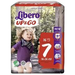 Libero Up & go 7 extra large 16-26 kg (16 stuks)