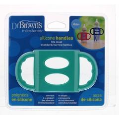 Dr Brown's Siliconen handvat voor standaard hals turquoise (1 stuks)