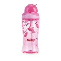 Nuby Flip it beker 360 ml roze 3 jaar+ (1 stuks)