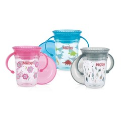 Nuby Wonder cup 240 ml 6 maanden+ (1 stuks)