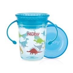 Nuby Wonder cup 240 ml aqua 6 maanden+ (1 stuks)
