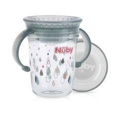 Nuby Wonder cup 240 ml grijs 6 maanden+ (1 stuks)