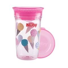 Nuby Wonder cup 300 ml roze 6 maanden+ (1 stuks)