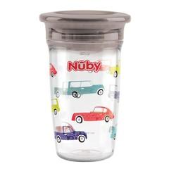 Nuby Wonder cup 300 ml grijs 6 maanden+ (1 stuks)