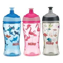 Nuby Pop-up beker 360 ml 3 jaar+ (1 stuks)