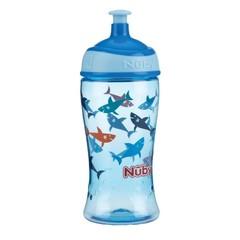 Nuby Pop-up beker 360 ml blauw 3 jaar+ (1 stuks)