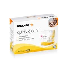 Medela Quickclean magnetronzak (5 stuks)