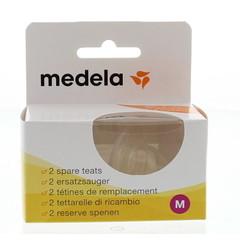 Medela Speen medium flow (2 stuks)