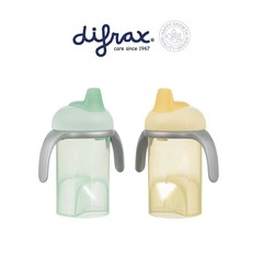 Difrax Anti lekbeker met zachte tuit (1 stuks)