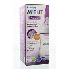 Avent Zuigfles natural 260 ml incl speen (1 stuks)