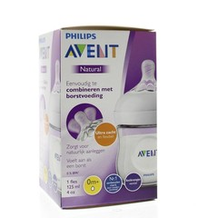 Avent Zuigfles 125 ml incl speen (1 stuks)