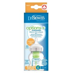 Dr Brown's Options+ brede halsfles 150 ml (1 stuks)