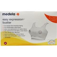 Medela Bustier easy expression wit maat M (1 stuks)