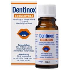 Vemedia Dentinox suikervrij (9 ml)