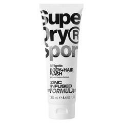 Superdry Sport RE:ignite Body + hair wash (250 ml)