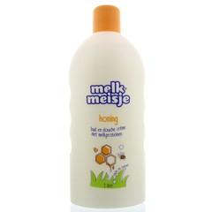 Melkmeisje Bad en douche honing (2 liter)