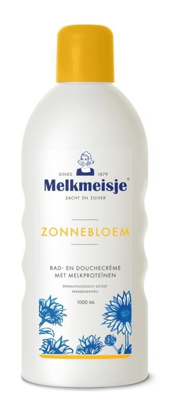 Melkmeisje Melkmeisje Bad en douche zonnebloem/melk (1 liter)