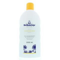 Melkmeisje Bad en douche zonnebloem/melk (2 liter)