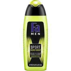FA Men douchegel sport double power boost (250 ml)