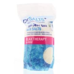 Dr Salts Dode zeezout relax rozenolie (1 kilogram)