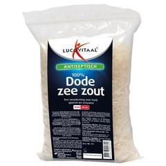 Lucovitaal Dode zeezout zak (1 kilogram)
